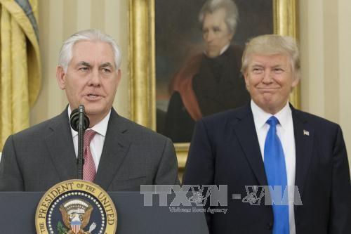 มอสโคว์ตั้งความหวังเกี่ยวกับการเจรจาอย่างมีประสิทธิภาพกับรัฐมนตรีต่างประเทศสหรัฐ - ảnh 1