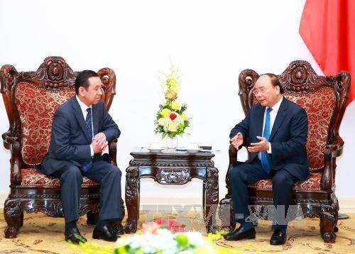 นายกรัฐมนตรีเวียดนามให้การต้อนรับเอกอัครราชทูตมองโกเลียและผู้อำนวยการใหญ่ธนาคารKDB - ảnh 1