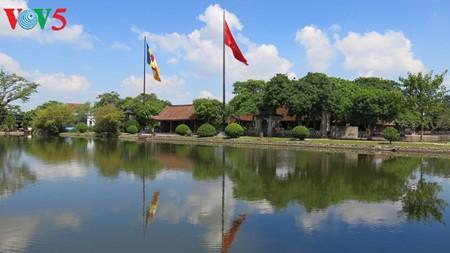 สถาปัตยกรรมพิเศษของวัดแกวท้ายบิ่งห์ในภาคเหนือเวียดนาม - ảnh 4