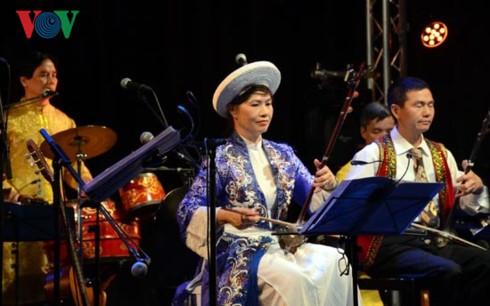 Lễ ra mắt Quỹ khuyến học và bảo tồn dân ca Việt - Đức - ảnh 4