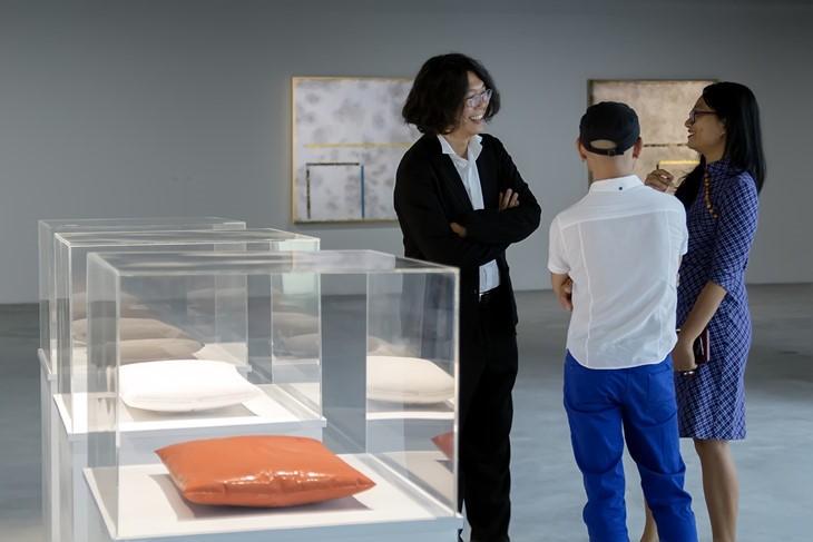 ศูนย์ศิลปะแนวใหม่วินคอม สถานที่เชื่อมโยงและเผยแพร่ศิลปะ - ảnh 2