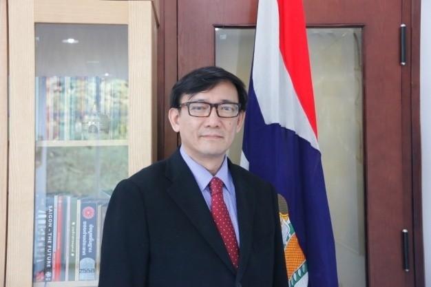 บทสัมภาษณ์ท่านเอกอัครราชทูตไทยประจำเวียดนาม วันที่ 8 สิงหาคมปี 2017 - ảnh 1