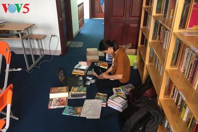 ห้องสมุด Bfree ส่งเสริมวัฒนธรรมการอ่าน - ảnh 2