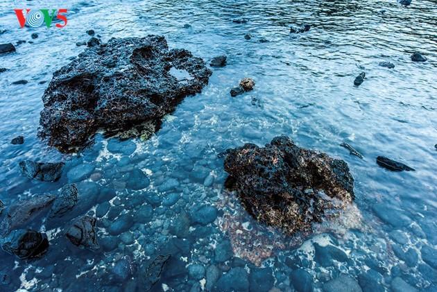 ชมปากปล่องภูเขาไฟโบราณริมฝั่งทะเลบาหล่างอาน จังหวัดกว๋างหงาย - ảnh 11