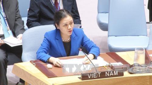 เวียดนามเข้าร่วมการประชุมของคณะกรรมการลดกำลังรบและความมั่นคงระหว่างประเทศของสหประชาชาติ - ảnh 1