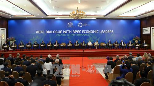 การสนทนาระหว่างผู้นำเอเปกกับ ABAC - ảnh 1