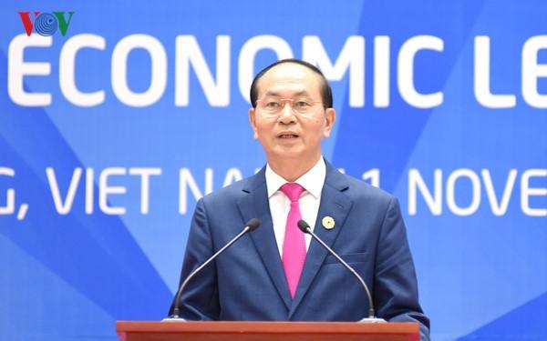 นิมิตรหมายของเวียดนามในสัปดาห์ผู้นำเอเปก 2017 - ảnh 1