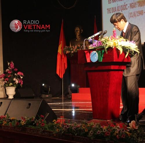 สหภาพแรงงานและสถานีวิทยุเวียดนามปฏิบัติคำเรียกร้องแข่งขันรักชาติของประธานโฮจิมินห์ - ảnh 1
