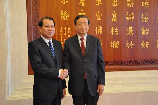 ภารกิจของรองนายกรัฐมนตรีเวียดนาม Vũ Văn Ninhในประเทศจีน - ảnh 1