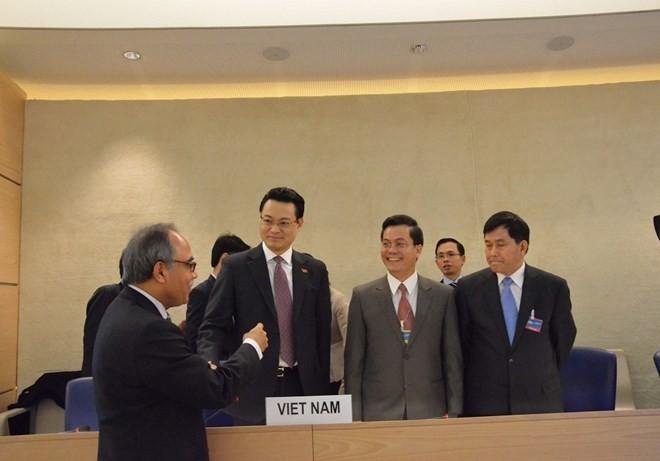 กลุ่มปฏิบัติงานเกี่ยวกับUPR ของสภาสิทธิมนุษยชนแห่งสหประชาชาติอนุมัติรายงานของเวียดนาม - ảnh 1