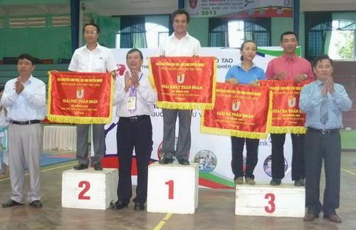 Kết thúc giải karatedo sinh viên, học sinh chuyên nghiệp toàn quốc - ảnh 1