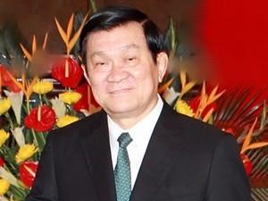 Chủ tịch nước Trương Tấn Sang lên đường thăm Brunei và Myanmar - ảnh 1