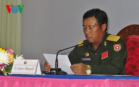 Bộ Quốc phòng Lào kỷ niệm 65 năm ngày truyền thống quân tình nguyện Việt Nam giúp Lào - ảnh 1