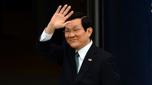 Chủ tịch nước Trương Tấn Sang sẽ dự Lễ kỷ niệm 70 năm Chiến thắng vệ quốc vĩ đại tại Nga - ảnh 1
