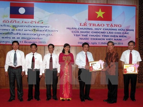 6 tập thể tỉnh Điện Biên được tặng Huân, Huy chương Hữu nghị của Nhà nước Lào  - ảnh 1