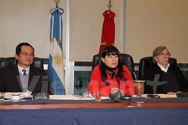 Tọa đàm về Chủ tịch Hồ Chí Minh tại Argentina - ảnh 1