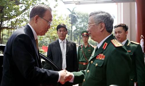 Việt Nam luôn sẵn sàng tham gia hoạt động gìn giữ hòa bình Liên hợp quốc  - ảnh 1