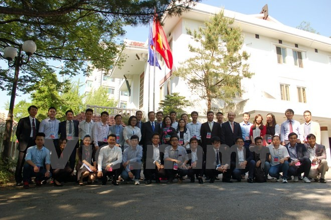 Hội Sinh viên Việt Nam tại Hàn Quốc tăng cường kết nối cộng đồng, hướng về Tổ quốc - ảnh 1