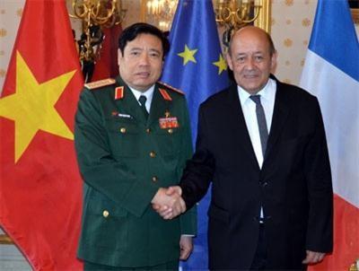 Việt Nam – Pháp tăng cường quan hệ hợp tác quốc phòng vì lợi ích của nhân dân hai nước - ảnh 1