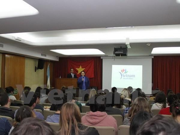 Hội thảo về văn hóa Việt Nam tại Argentina  - ảnh 1