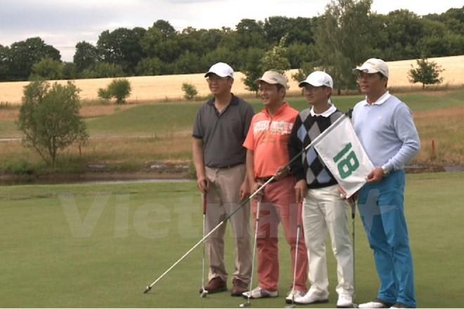 Giải Golf hữu nghị chào mừng 40 năm quan hệ ngoại giao Việt - Đức  - ảnh 1