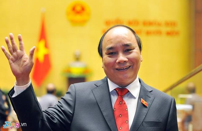 Điện mừng các nước chúc mừng Thủ tướng Nguyễn Xuân Phúc - ảnh 1