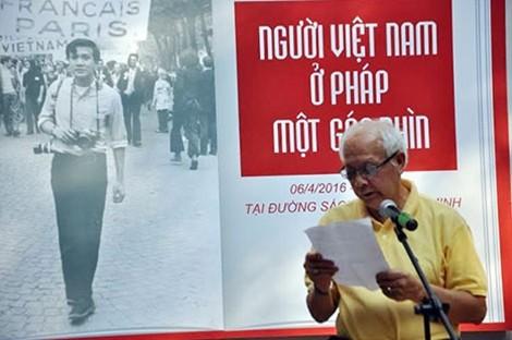 Giới thiệu hơn 100 bức ảnh về người Việt Nam ở Pháp  - ảnh 1