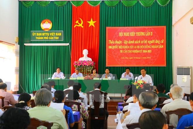 Các địa phương lập danh sách người ứng cử đại biểu Quốc hội khóa XIV - ảnh 1