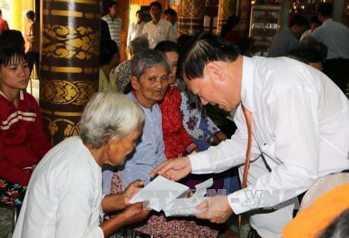 Chúc mừng đồng bào Khmer nhân dịp Tết Chôl Chnăm Thmây  - ảnh 1