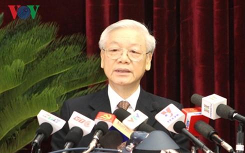 Khai mạc Hội nghị lần thứ ba Ban chấp hành Trung ương Đảng Cộng sản Việt Nam khóa XII - ảnh 1