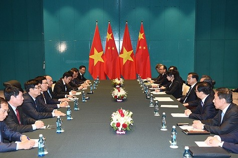 Thủ tướng Nguyễn Xuân Phúc gặp Thủ tướng Trung Quốc Lý Khắc Cường và Tổng thống Bulgaria - ảnh 1