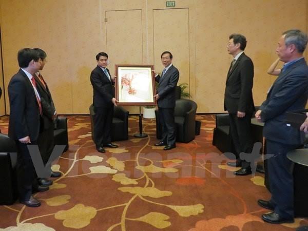 Thành phố Hà Nội và Seoul tăng cường hợp tác trên nhiều lĩnh vực - ảnh 1