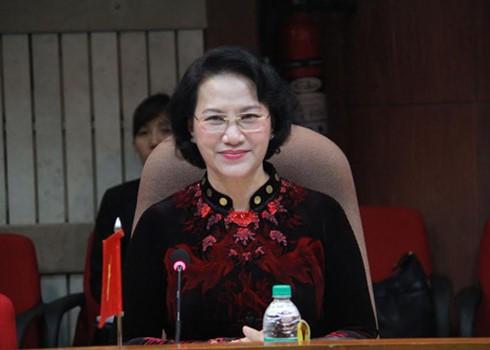 Chủ tịch Quốc hội dự Hội nghị Thượng đỉnh các Nữ Chủ tịch Quốc hội Thế giới lần thứ 11 - ảnh 1
