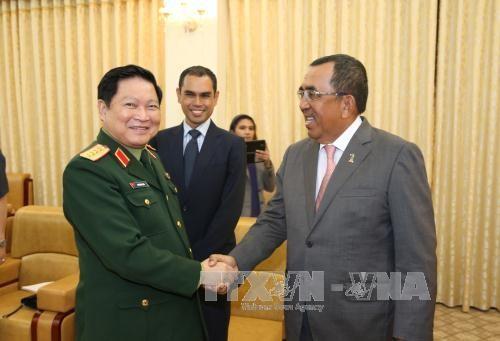 Thứ trưởng Bộ Quốc phòng Malaysia thăm Việt Nam  - ảnh 1