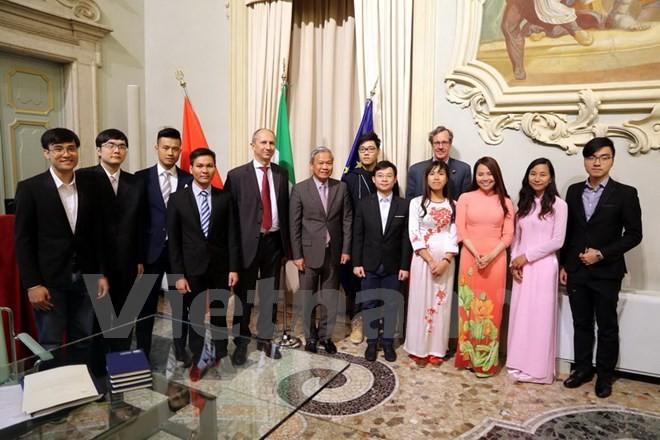 Đại học Brescia của Italy mong muốn tiếp nhận thêm nhiều sinh viên, nghiên cứu sinh Việt Nam - ảnh 1