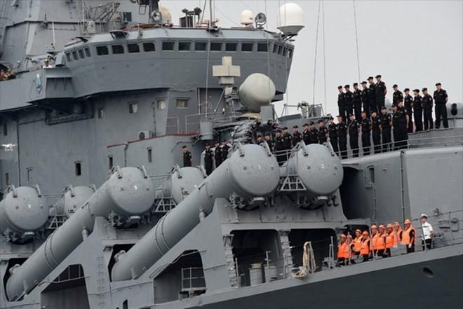 Tàu Hải quân Nga thăm Cảng Quốc tế Cam Ranh, Khánh Hòa - ảnh 1