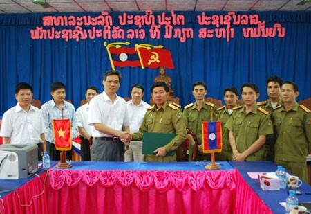 Đẩy mạnh hợp tác giữa Công an Sơn La và Công an các tỉnh Bắc Lào - ảnh 1