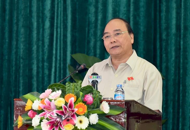 Thủ tướng Nguyễn Xuân Phúc tiếp xúc cử tri Quận Đồ Sơn, Hải Phòng - ảnh 1