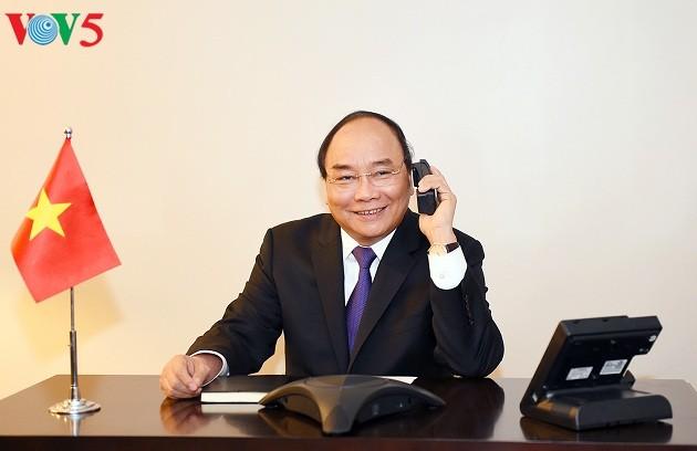 Thủ tướng Nguyễn Xuân Phúc điện đàm với một số nghị sỹ Hoa Kỳ - ảnh 1