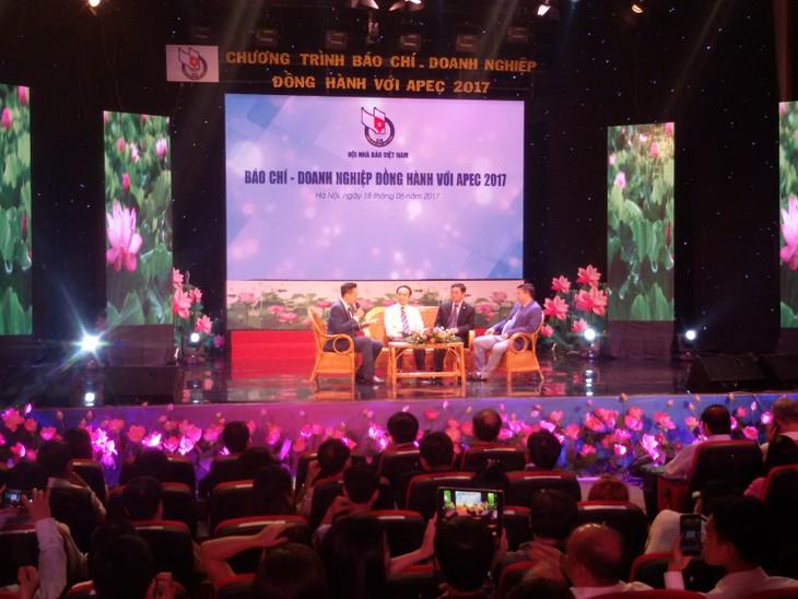Báo chí - doanh nghiệp đồng hành với APEC 2017 - ảnh 1