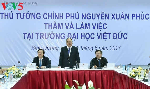 Thủ tướng Nguyễn Xuân Phúc gợi ý mục tiêu phát triển mới cho Trường Đại học Việt Đức - ảnh 2