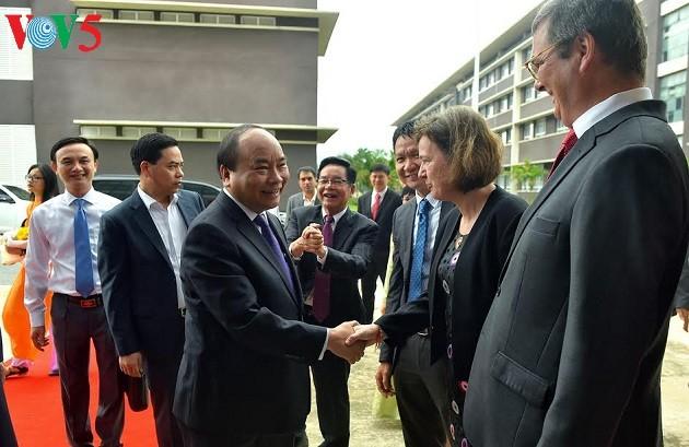 Thủ tướng Nguyễn Xuân Phúc gợi ý mục tiêu phát triển mới cho Trường Đại học Việt Đức - ảnh 3