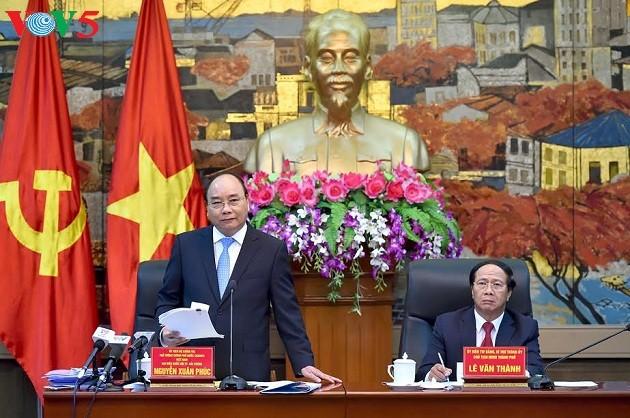 Thủ tướng Nguyễn Xuân Phúc yêu cầu thành phố Hải Phòng phát triển hạ tầng không dựa vào ngân sách - ảnh 1