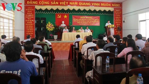 Chủ tịch Quốc hội Nguyễn Thị Kim Ngân tiếp xúc cử tri tại Cần Thơ - ảnh 2