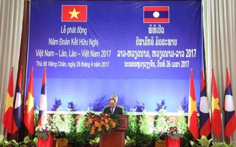 """Sơn La: Sẵn sàng cho các hoạt động """"Năm đoàn kết hữu nghị Việt Nam-Lào 2017"""" - ảnh 1"""