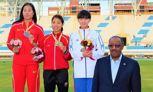 Bùi Thị Thu Thảo giành Huy chương vàng Giải vô địch điền kinh châu Á - ảnh 1