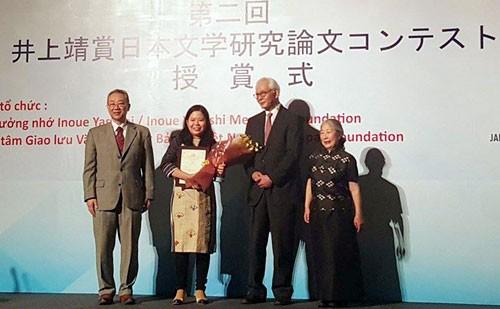 Tổ chức cuộc thi viết luận về nghiên cứu văn học Nhật Bản lần thứ 3 - ảnh 1
