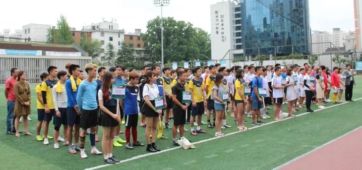Khai mạc Đại hội Thể dục thể thao của sinh viên Việt Nam tại Hàn Quốc năm 2017 - ảnh 3