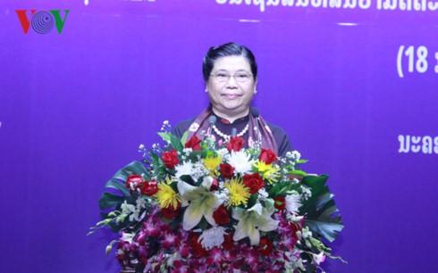 Lễ trao tặng Huân chương của Đảng, Nhà nước Việt Nam cho Lãnh đạo cấp cao Lào - ảnh 1