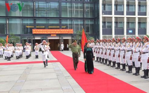 Chủ tịch Quốc hội Nguyễn Thị Kim Ngân dự Hội nghị Biểu dương người có công với cách mạng - ảnh 1